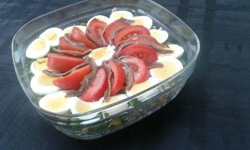 Salade haricots verts d'été